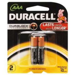 Alkaline Coppertop Batteries AAA-Cell 2/pk