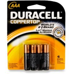 Alkaline Coppertop Batteries AAA-Cell 4/pk