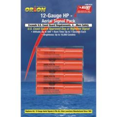 Red Aerial Flares High Performance 12 Gauge