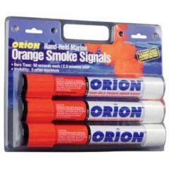 Orange Handheld Smoke Flares