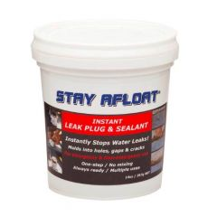 Stay Afloat Leak Plug & Sealant Tub 14 oz