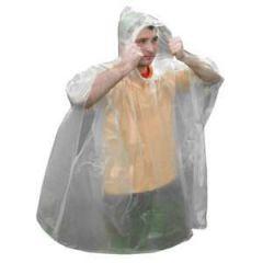 Emergency Poncho, cCear Polyethylene