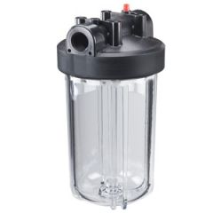 Water Filter Housing Clear Cartridge 10""
