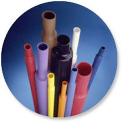 Heat Shrink Adhesive Black 1/2""
