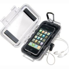 """iPhone/iPod Case Water Resistant Clear 6.68"""" x 3.88"""" x 1.37"""""""