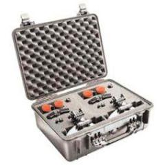 """Protector Case w/Foam Waterproof Silver 19.78"""" x 15.77"""" x 7.41"""""""