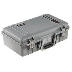 "Pelican Air Case Silver 20.50"" x 11.31"" x 6.75"""