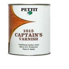 Captain's Varnish High Performance Amber 1 qt