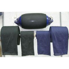 Rollneck Black Fender Cover, Fits 22-27cm Diameter Fender