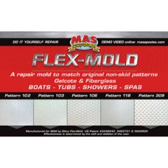 Flex-Mold Non Skid Repair System 106 Small Oval Pattern