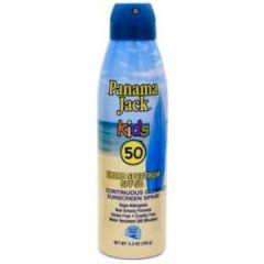 Panama Jack SPF50 Kids Suncreen Spray 5.5 oz
