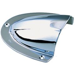 "Clam Shell Ventilator Stainless Steel 4"" x 3 3/4"""