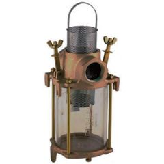 "Intake Water Strainer Bronze w/Stainless Steel Filter Basket 1 1/2"""