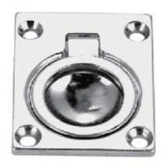 Ring Pull Flush Chrome Plated Zinc