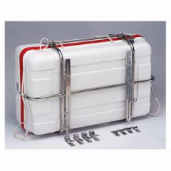Liferaft Cradle Universal 316 Stainless Steel Adjustable