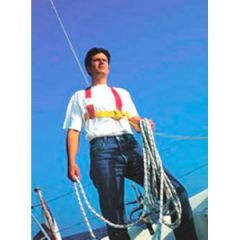 Standard Safety Harness w/Single Tether & 1 Snap Hook Adult LRG