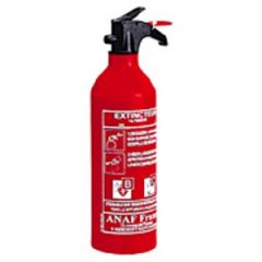 Fire Extinguisher Dry Powder ABC w/Gauge Portable 1 kg
