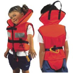 Lifejacket, w/Reflective Tape Bright Orange 3-8kg Baby/Toddler 0-2 Years