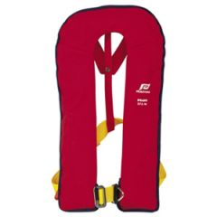 Lifejacket Pilot Automatic w/Harness Red 275N