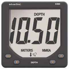 S400 Depth Instrument Display w/Giant Digits w/o Transducer