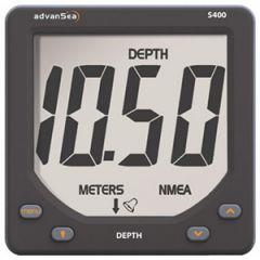 S400 Depth Instrument Display w/Giant Digits w/o Transducer