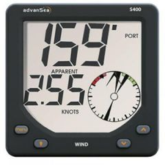 S400 Wind Display w/Masthead Unit & Cable LRG Digital Readout