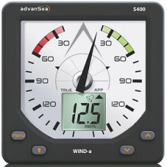 S400 Wind Direction Display w/Masthead Unit & Cable