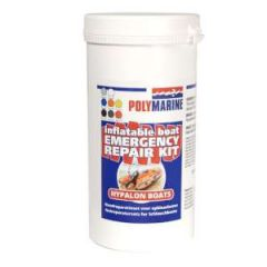 Adhesive Hypalon White 70 ml w/patch 35 cm x 15 cm