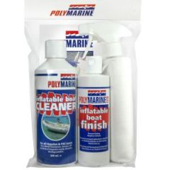 RIB Jr. Valet Kit w/1 Cleaner, 1 Finish, 2 Cloths & Instructions in Clear Bag