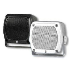 Speaker MA840 Sub Compact Box w/Stainless Grill Waterproof White 4""