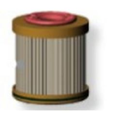 Fuel Filter Element Cartridge R11T 10 Micron