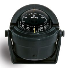 Voyager B-81 Black Compass CombiDial Bracket Mount