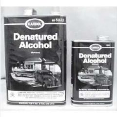 Denatured Alcohol Solvent Liquid 1 qt