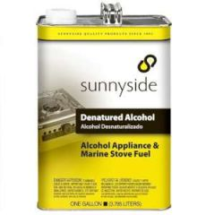 Denatured Alcohol Solvent Liquid 1 gal