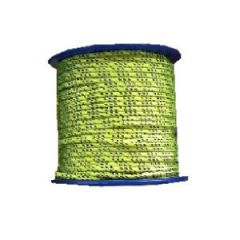 Mini-Spool Polyester Line 2 mm Neon Yellow 98 ft