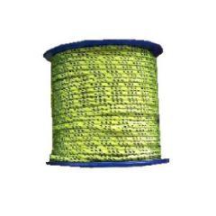 Mini-Spool Polyester Line 2 mm Neon Yellow 98 ft