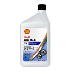 Rotella Oil, T4 SAE 15W-40 qt
