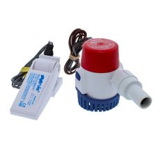 500 Submersible Bilge Pump w/Non Mercury Float Switch 12V