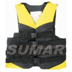 Boating Vest4 straps yellow Newton XL