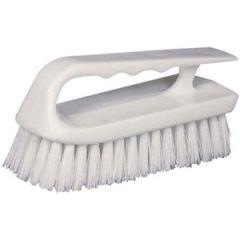 Hand Scrub Brush White Bristle