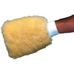Wash Mitt Synthetic Wool w/Mesh Fibers