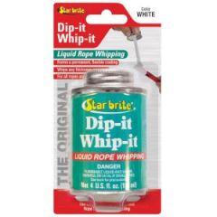 Liquid Rope Whipping Dip-It-Whip-It White Liquid 4 oz