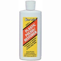 Clear Polish Plastic Restorer Step Two Liquid 8 oz