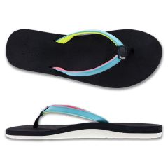Flip Flop, 'Puawe' Aqua W10