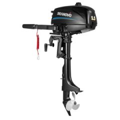 Seanovo 2-Stroke Outboard Motor 2.5 hp, Short Shaft