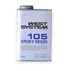 Epoxy Resin 105-A Part One Liquid 1 qt