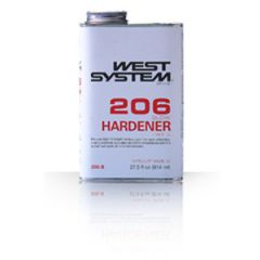 Epoxy Slow Hardener 206-A Part Two Liquid 8 oz