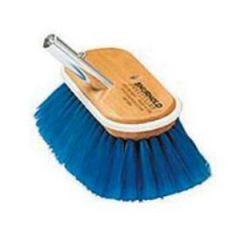 "Deck Brush Extra Soft Blue Bristle 6"""