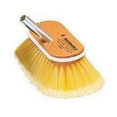 "Deck Brush Soft Yellow Bristle 10"""