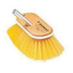 "Deck Brush Medium Yellow Bristle 10"""